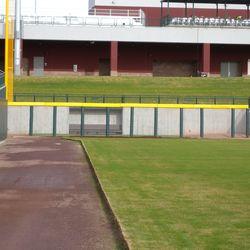 Cubs' bullpen, in left-field corner
