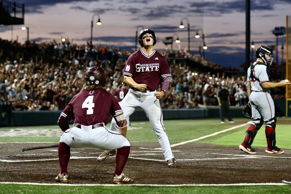 cc354c75 3 Mississippi State Baseball Takes Care of No. 4 Stanford in Super Regional  Opener
