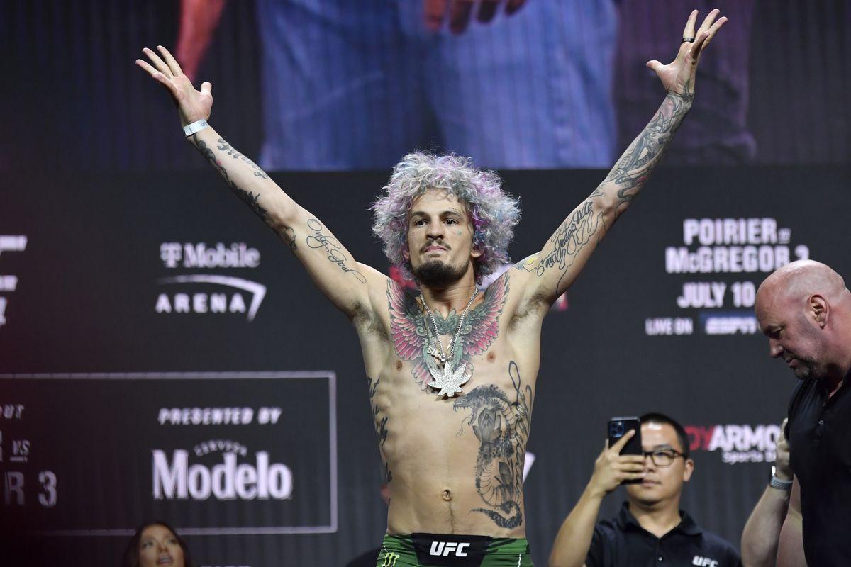 UFC 264 Weigh-in