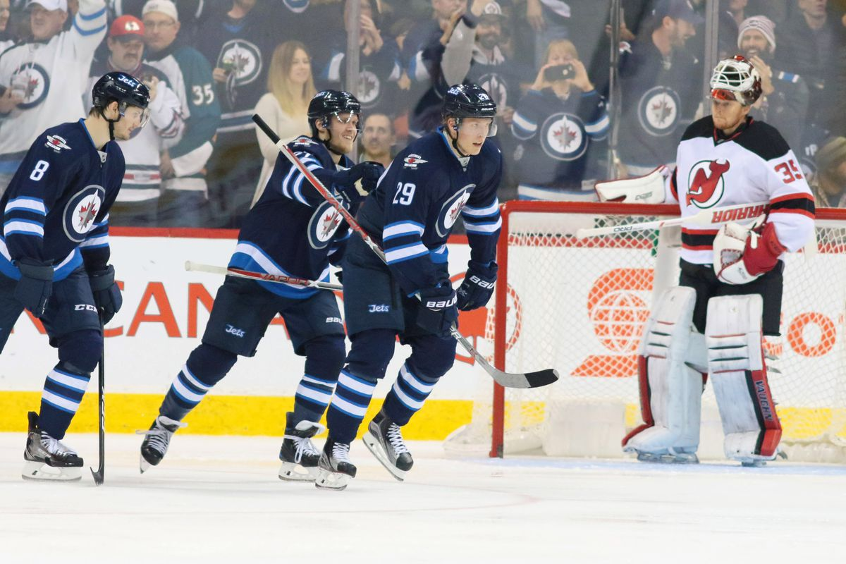 best service f8e95 48817 Winnipeg Jets vs New Jersey Devils - Arctic Ice Hockey