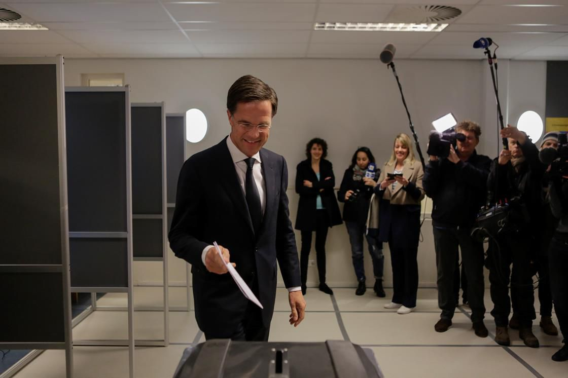 Dutch PM Mark Rutte