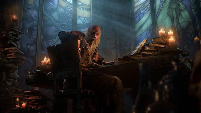 Deckard Cain in <em>Diablo 3</em>.