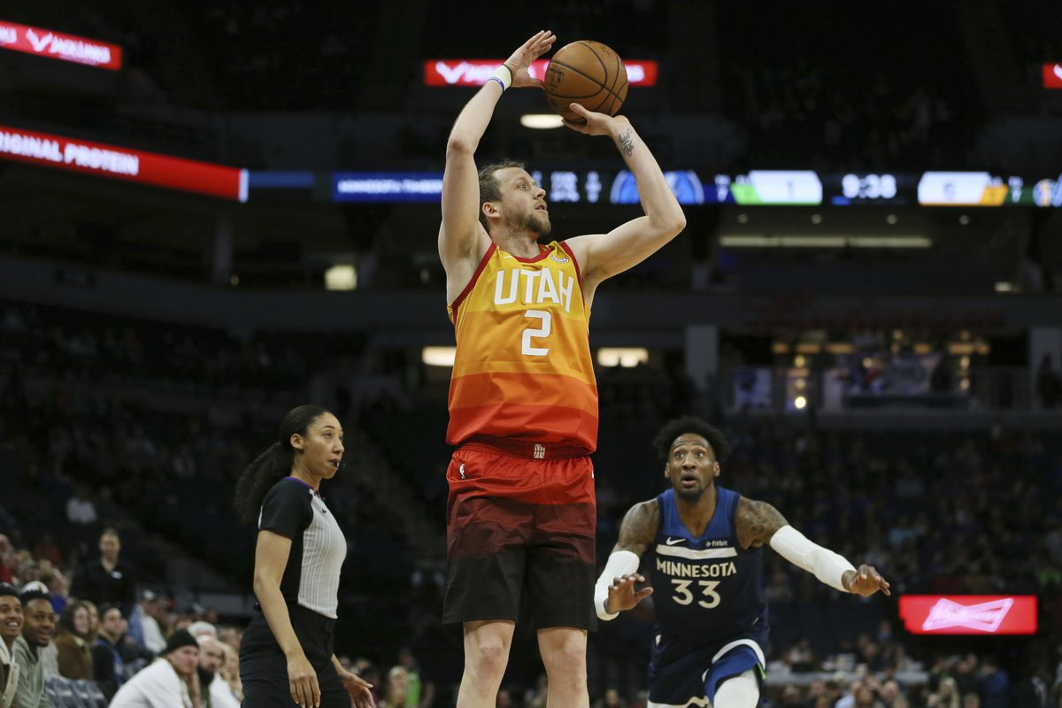 Utah Jazz S Offense Wakes Up In Win Over Minnesota Timberwolves