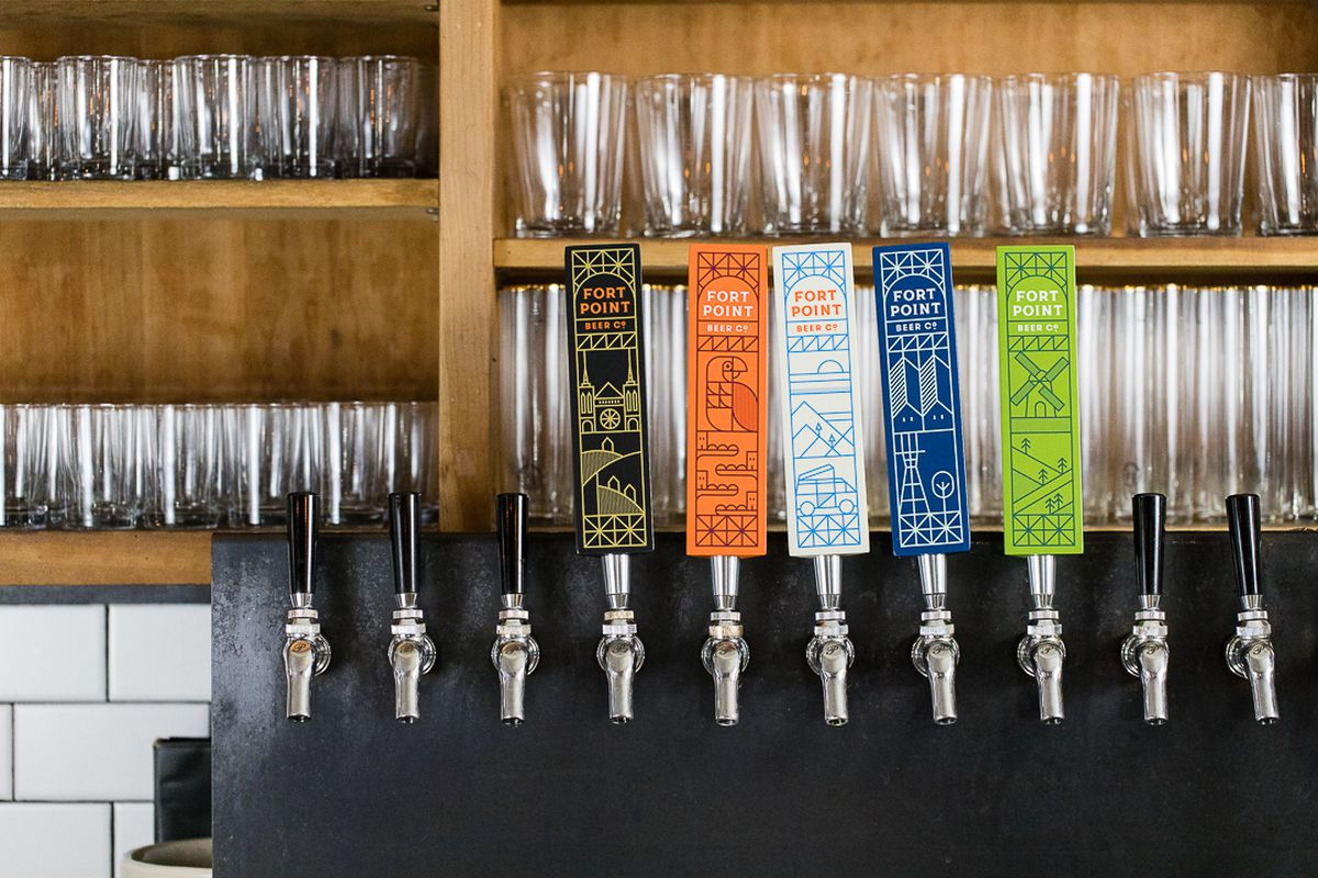 Taps of Fort Point Beer