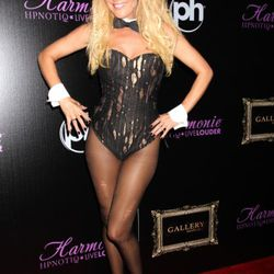 Former Girl Next Door and Playboy bunny Bridget Marquardt went as a ... Playboy bunny. Hon, we know you can do better that that.