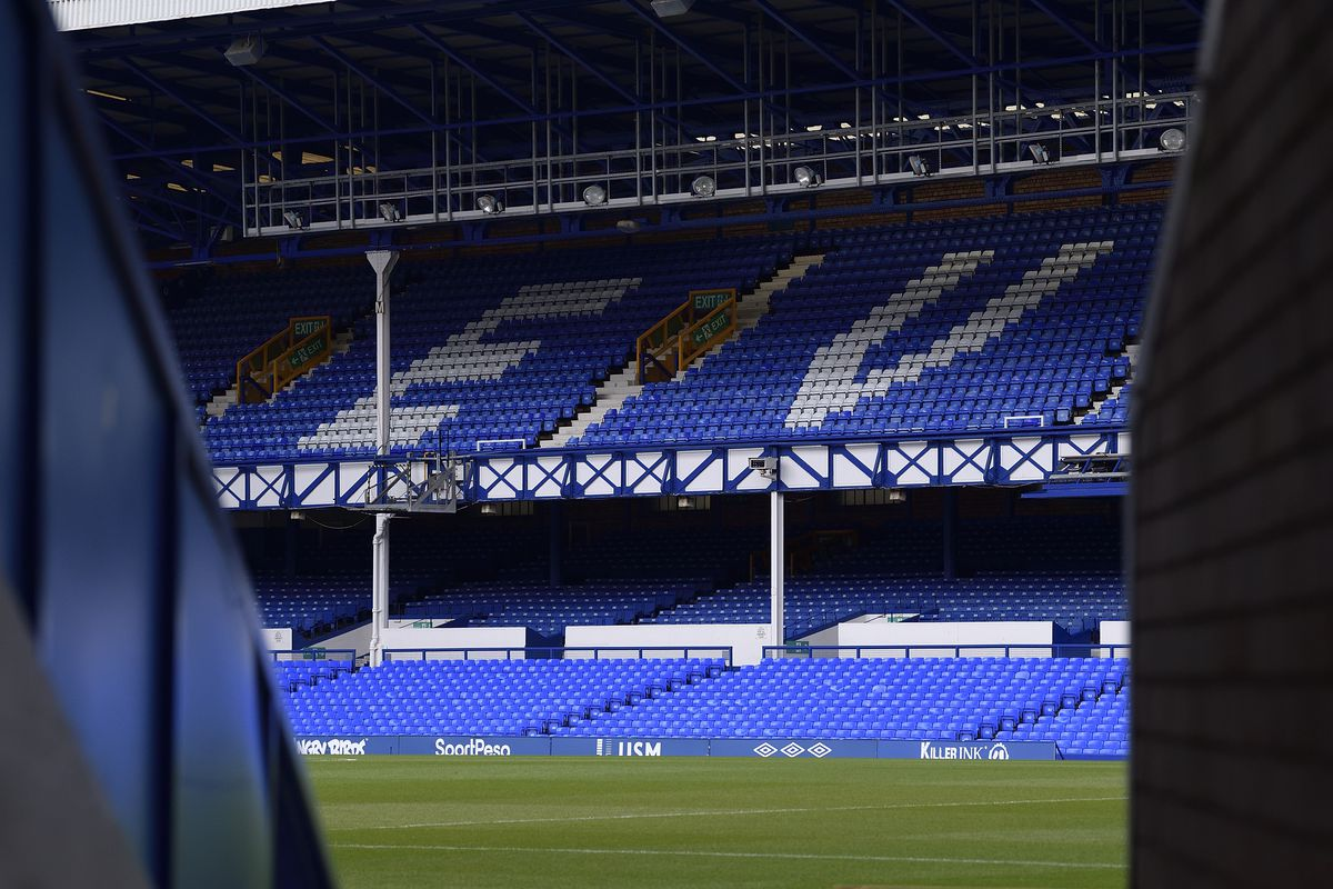 A general view of Goodison Park on January 11, 2020 in Liverpool, England