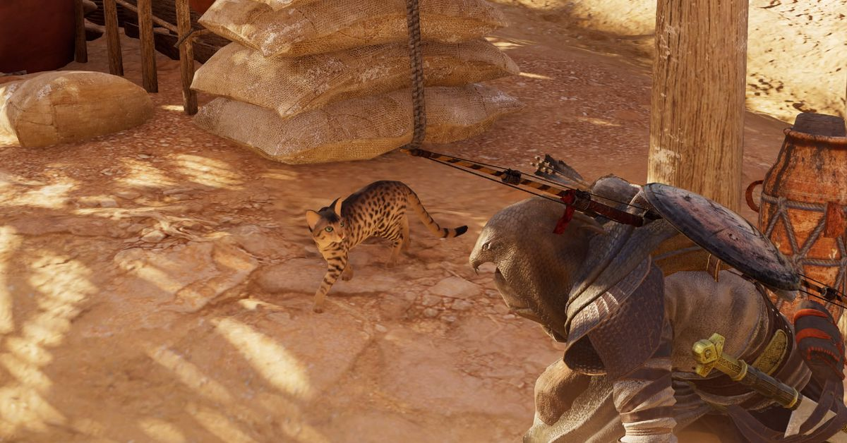 Assassin S Creed Origins How To You Pet The Cat