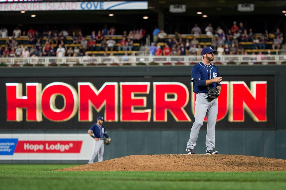 MLB: San Diego Padres at Minnesota Twins