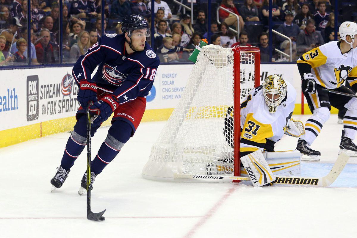 NHL: Preseason-Pittsburgh Penguins at Columbus Blue Jackets