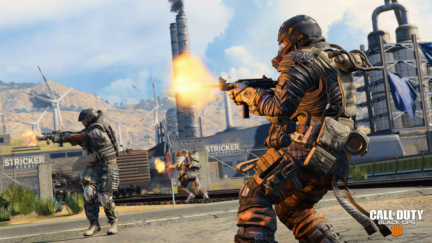 Call Of Duty Black Ops 4 Review A Great Shooter That Isn T Afraid To Copy The Verge