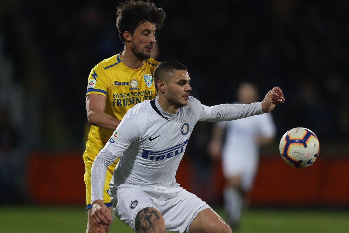 Frosinone Calcio v FC Internazionale - Serie A