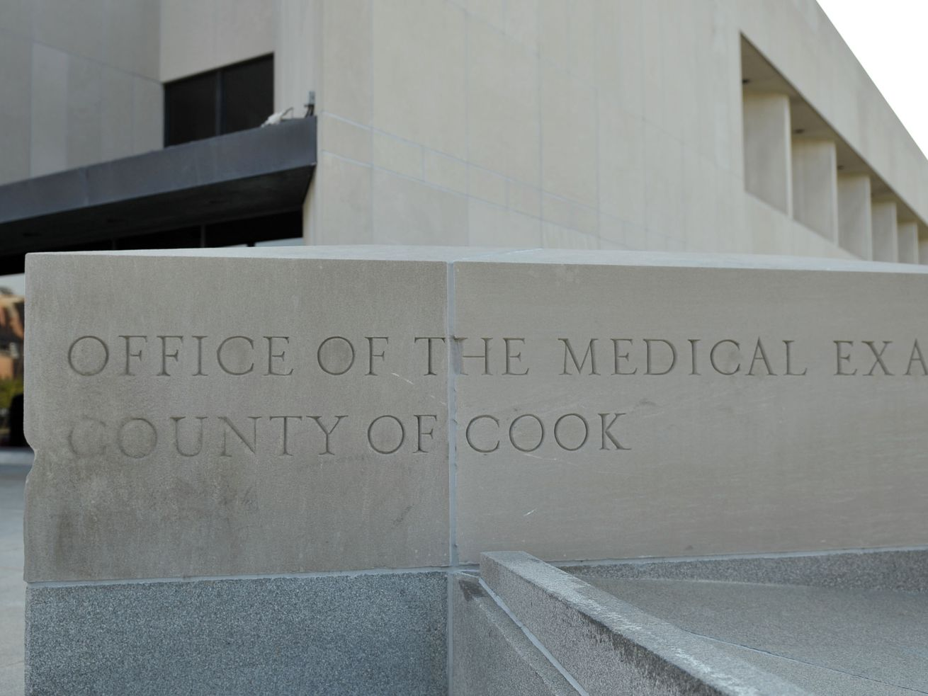 Office of the Medical Examiner County of Cook County. 2121 West Harrison Street.