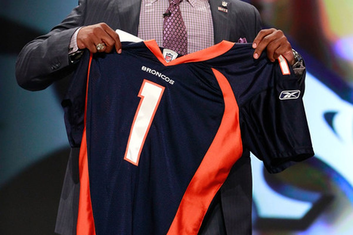 big sale 33011 62c14 2011 NFL Draft First Round Recap: Broncos Nab Texas A&M ...