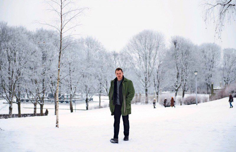 Michael Fassbender in The Snowman