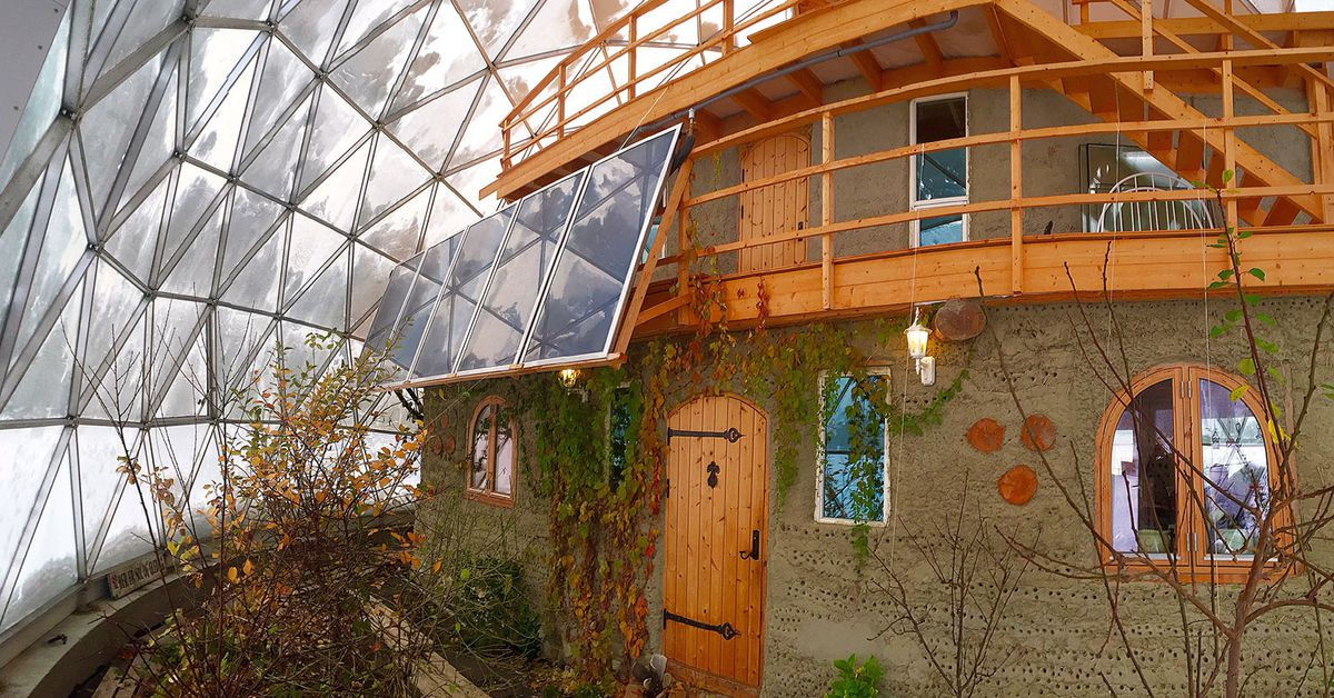 inside a family s geodesic dome home in the arctic circle curbed