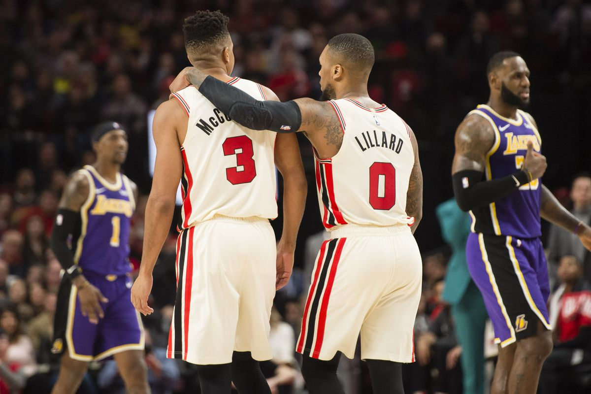 Managing Space Without Damian Lillard Crucial For The Trail Blazers Blazer S Edge