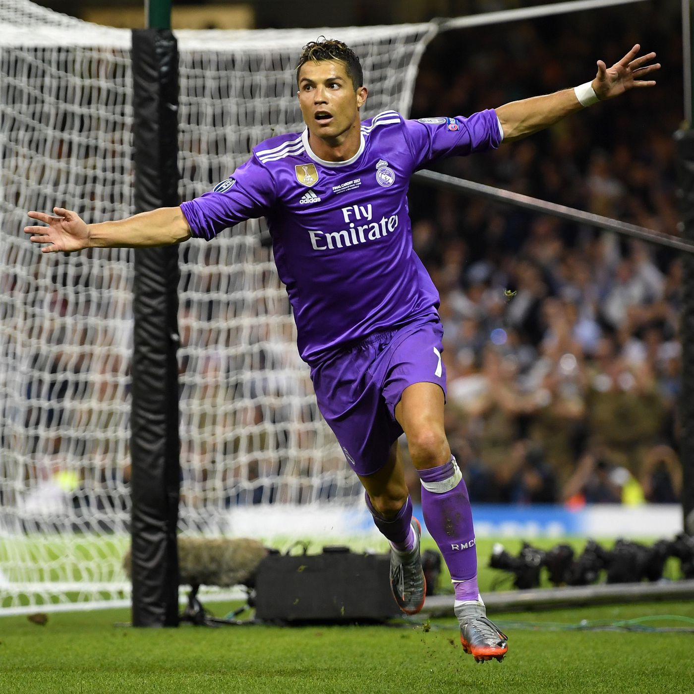 finest selection db506 2d45b Real Madrid vs. Juventus: Final score 4-1, Cristiano Ronaldo ...