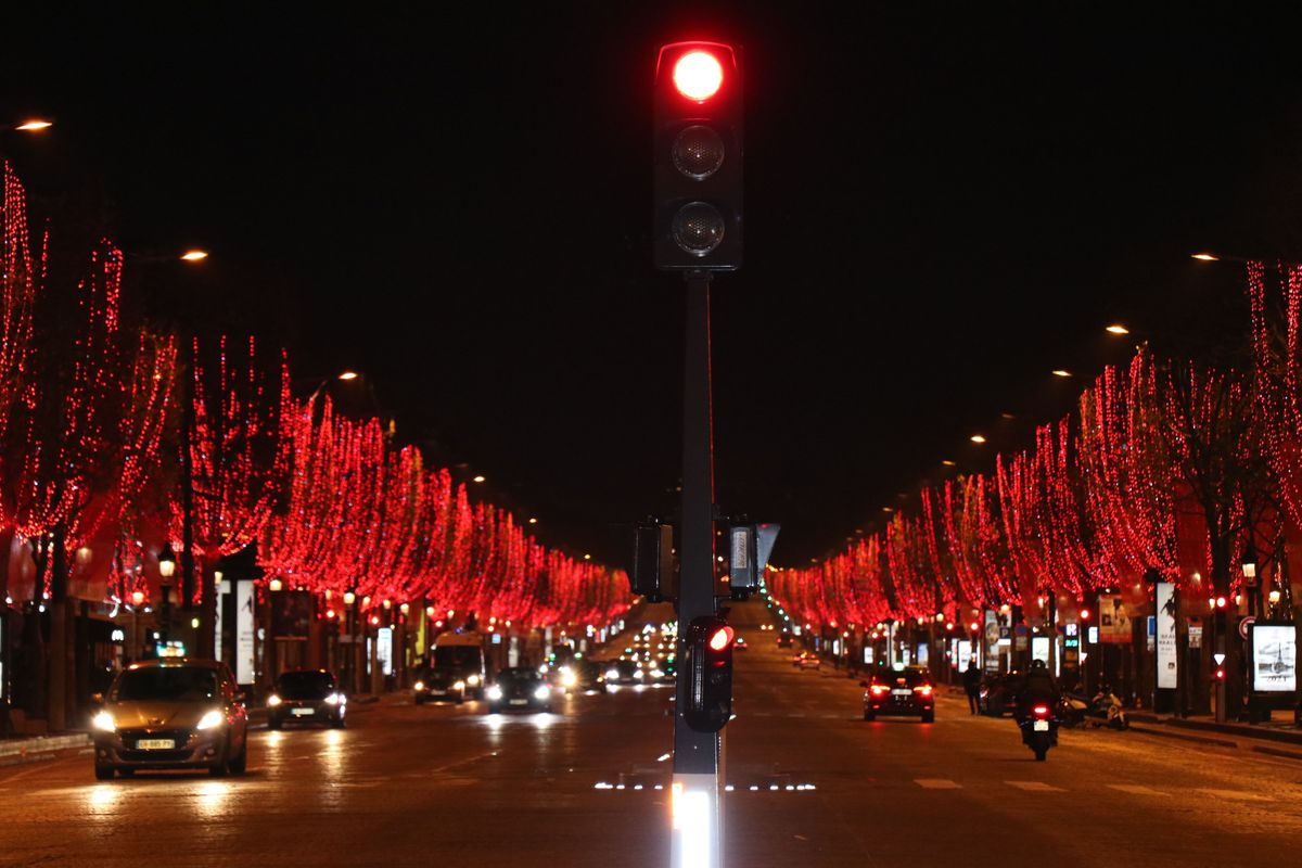 New year celebrations in Paris amid COVID-19