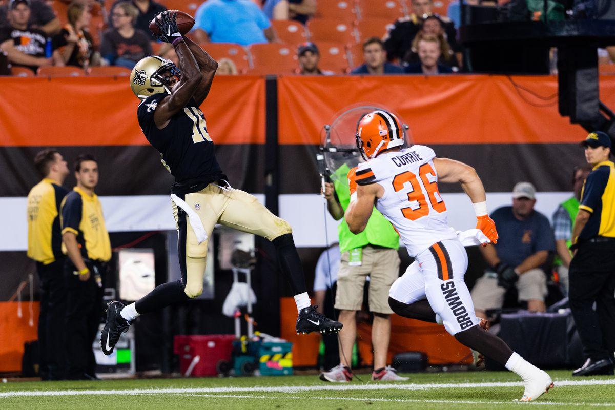 New Orleans Saints v Cleveland Browns