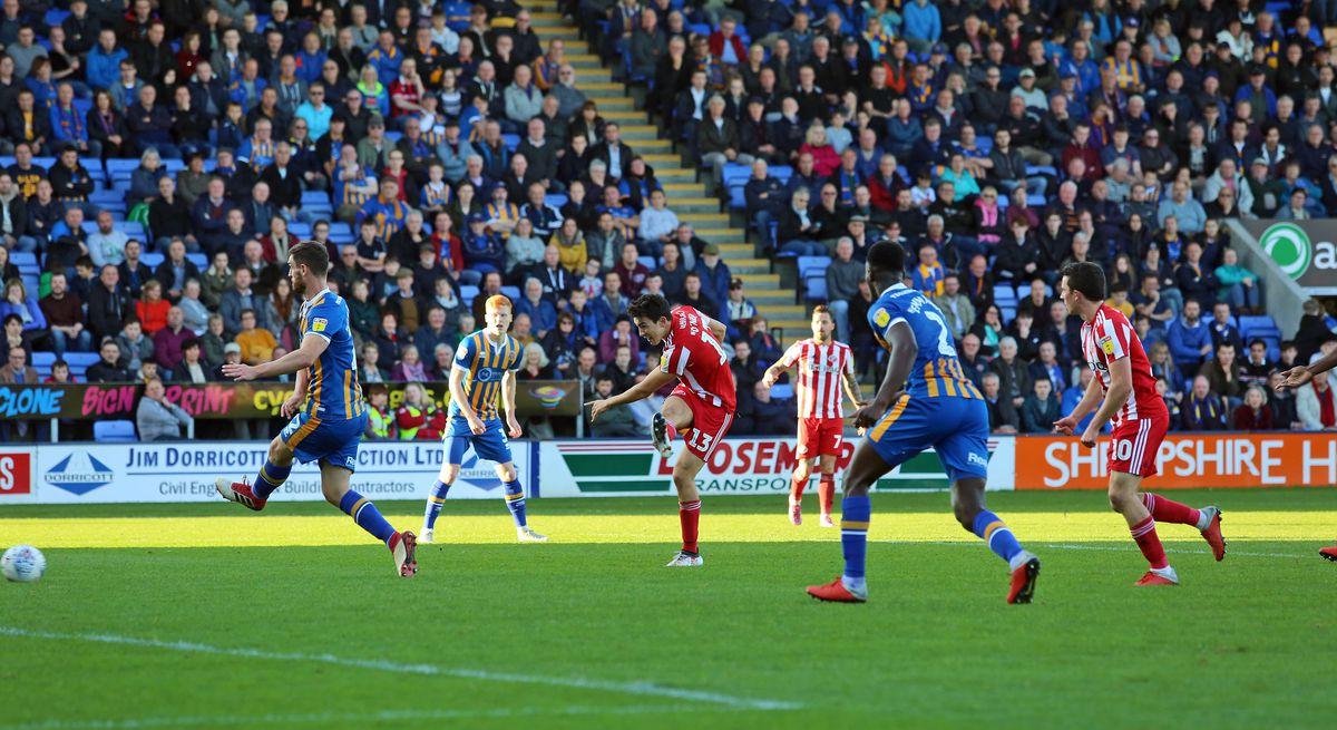 Shrewsbury Town v Sunderland - Sky Bet League One