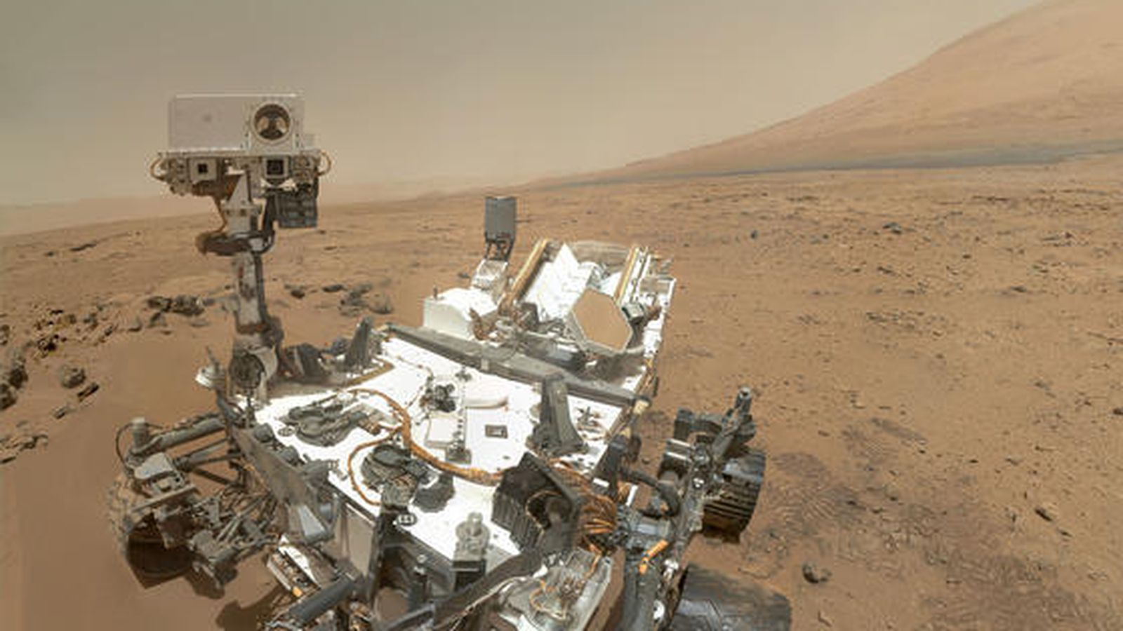 curiosity mars rover pictures - 1100×740