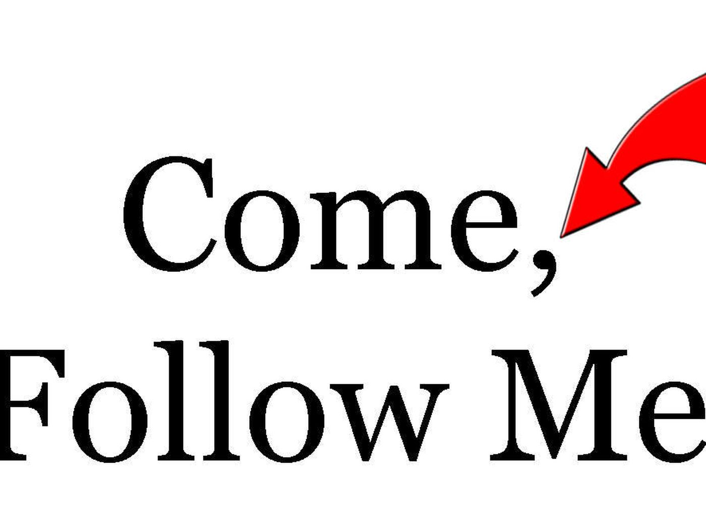 Sugardoodle yw come follow me
