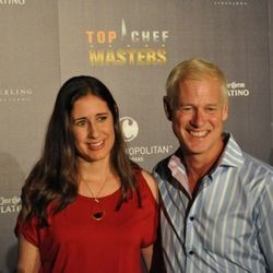 Top Chef Masters chef'testants Sue Torres and Clark Frasier