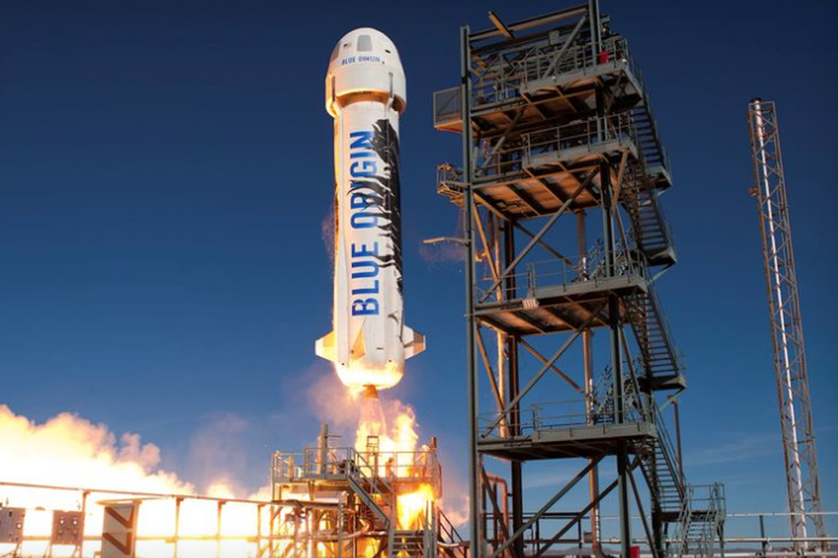 Blue Origin Just Launched and Landed Its Reusable Rocket for the Third Time