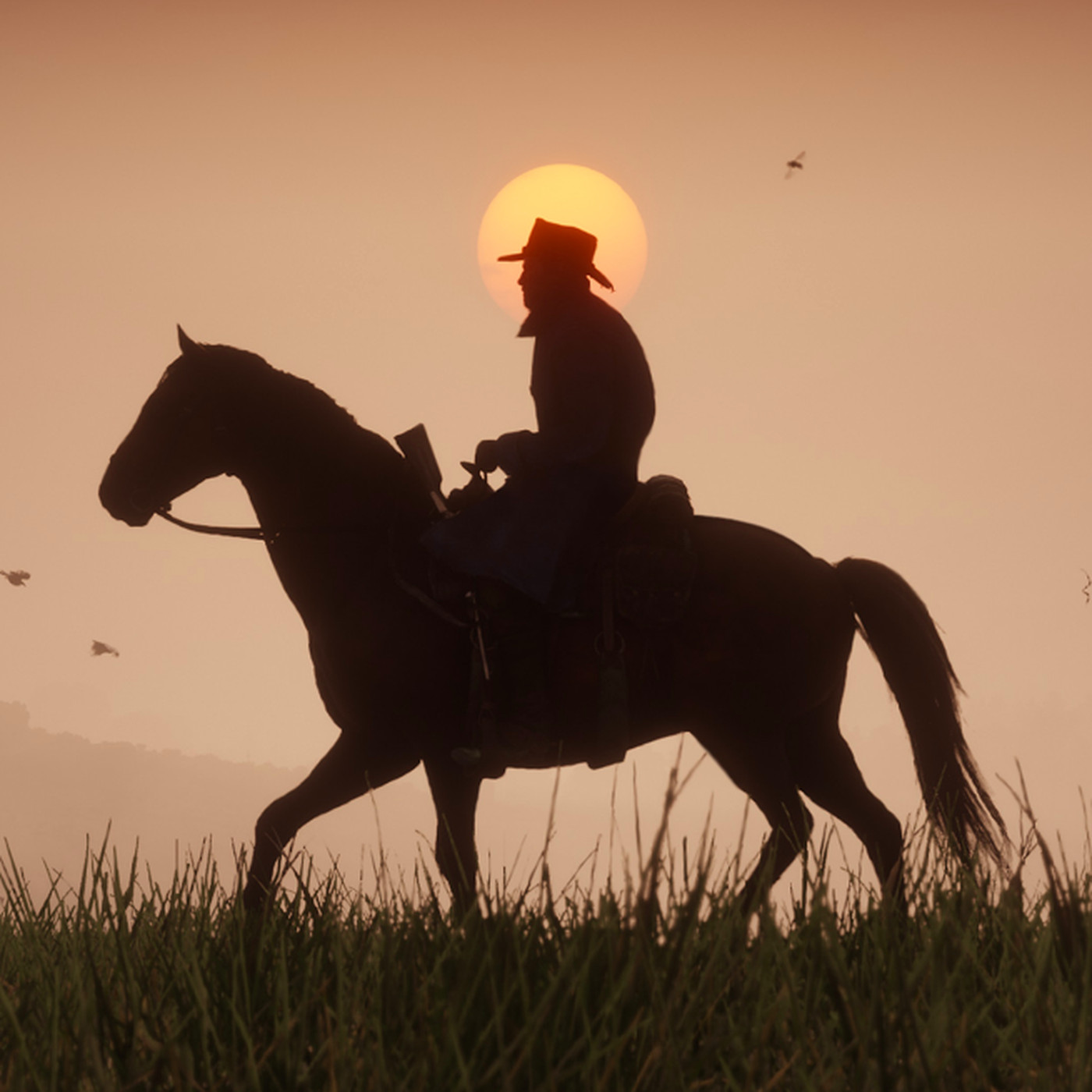 e51901e55 Red Dead Redemption 2 players find cursed road that always sets horses on  fire