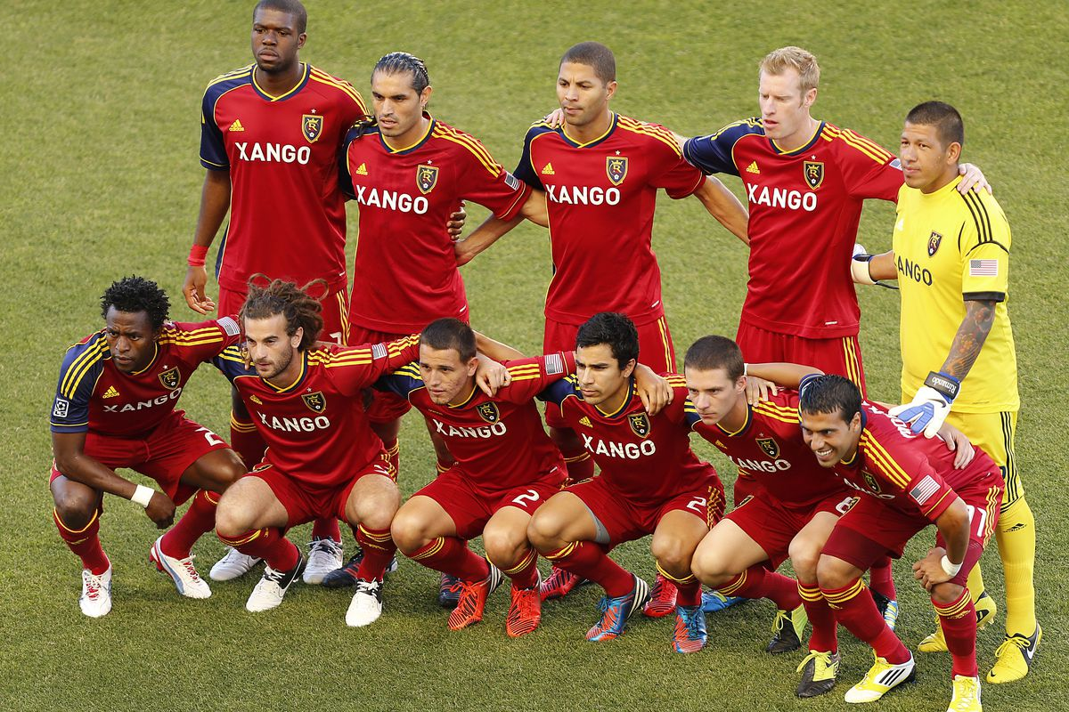 A lot of people have a lot of questions about RSL's recent form.  I try to put it into perspective. (Photo by George Frey/Getty Images)
