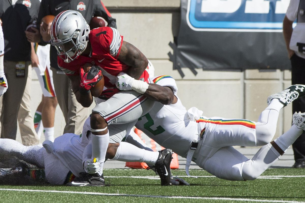 Braxton Miller has adjusted quickly to his new position