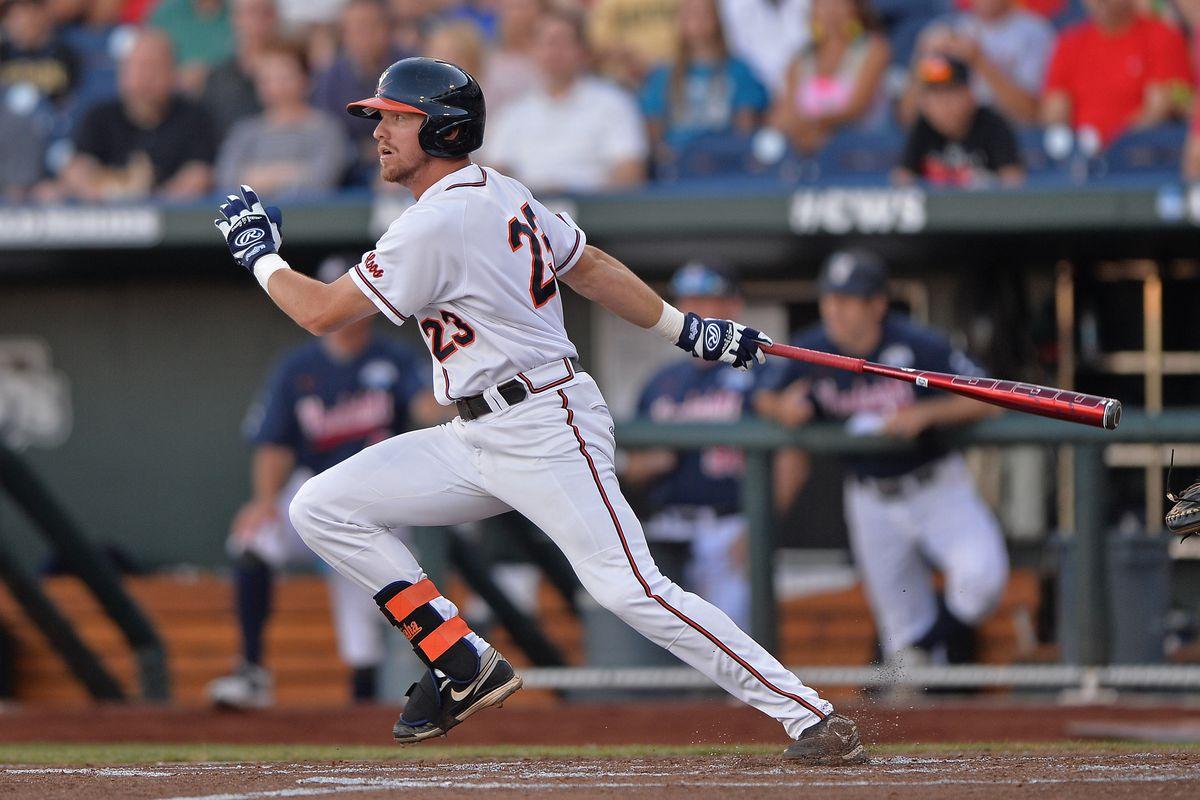 College World Series - Vanderbilt v Virginia - Game One