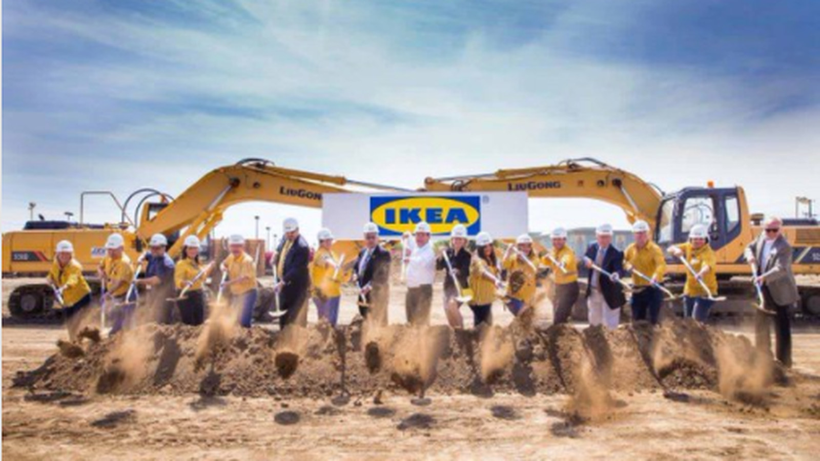 Work Begins On The Biggest Ikea In The United States