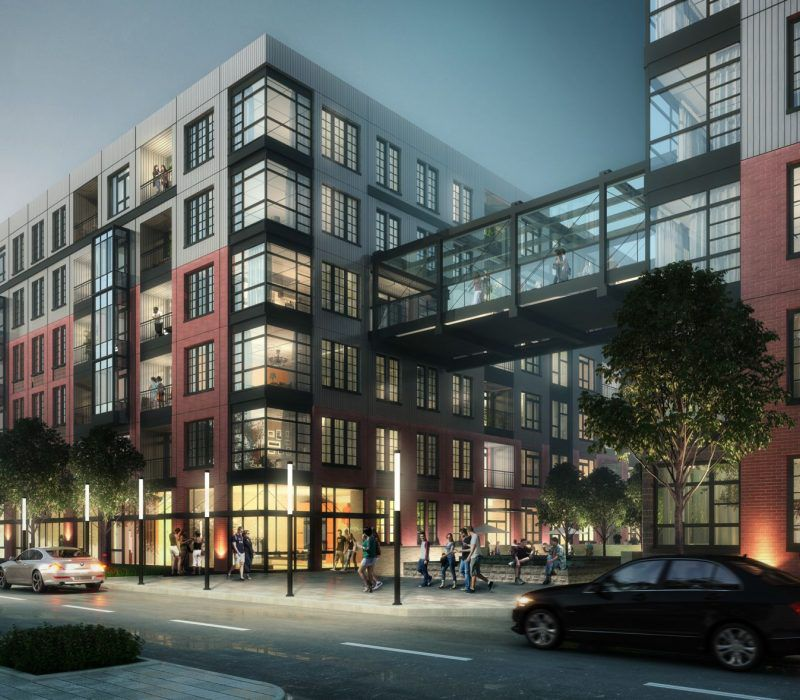 Mixed-use 'The Interlock' to squeeze onto Atlanta's Howell