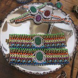 Bracelets, varying prices.