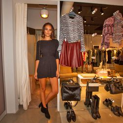 A glance at Beckley's fall offerings, and a babe in the perfect LBD/booties combo.