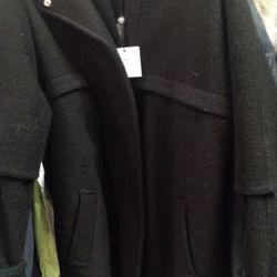 Wool coat, $159