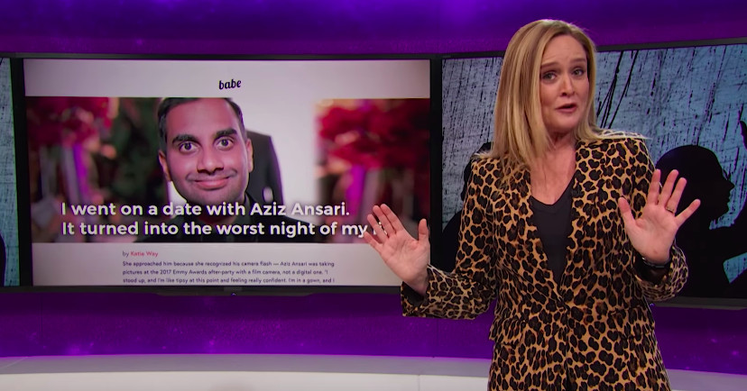 """Samantha Bee: """"[Women] know the difference between a rapist, a workplace harasser, and an Aziz Ansari"""""""