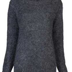BLK DNM wide neck sweater, was $345, now $172.50