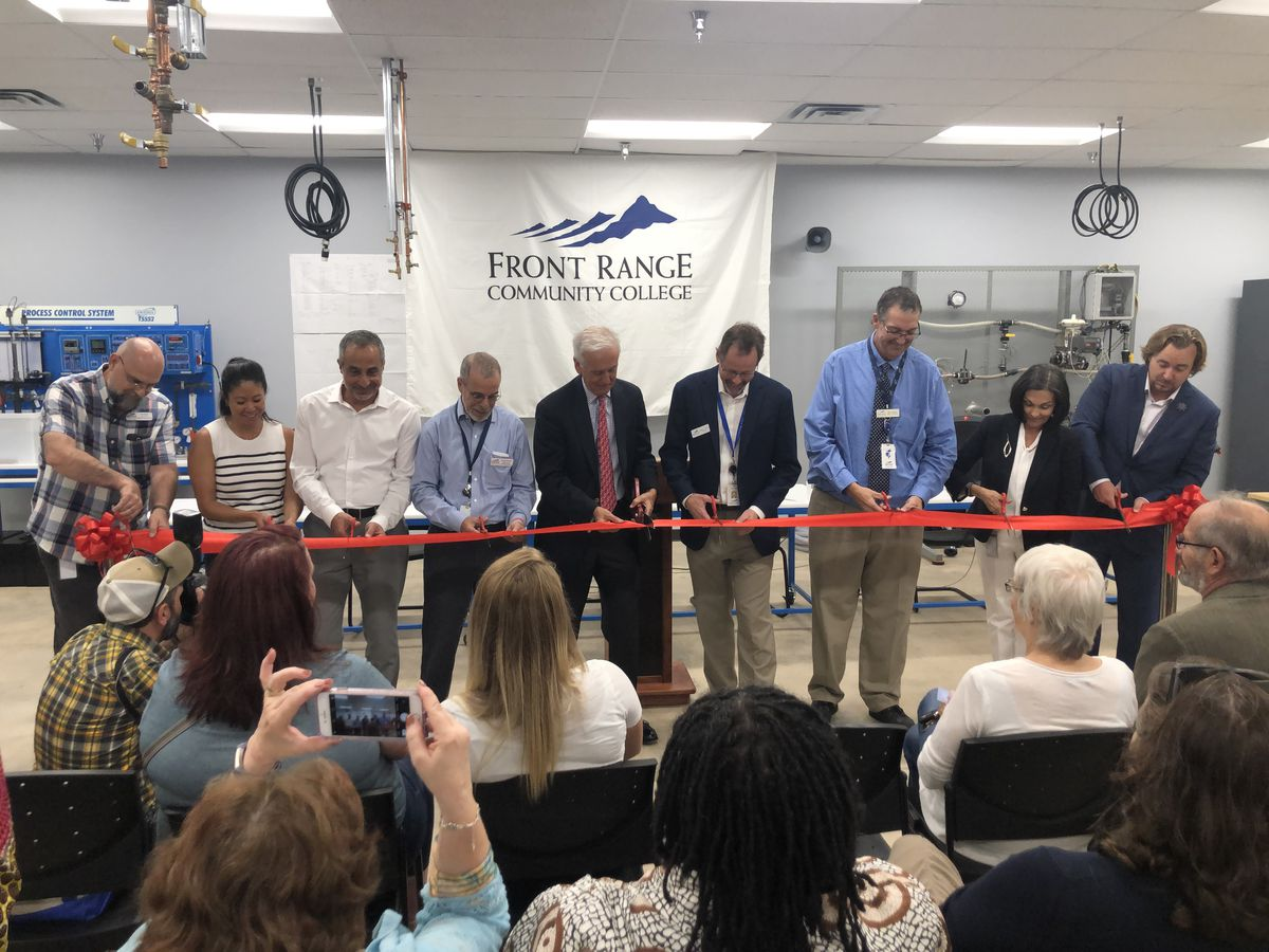 Front Range Community College held a ribbon-cutting Thursday to celebrate its new Center for Integrated Manufacturing.
