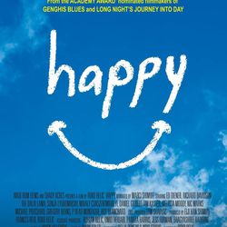 """Poster from the documentary film """"Happy."""""""