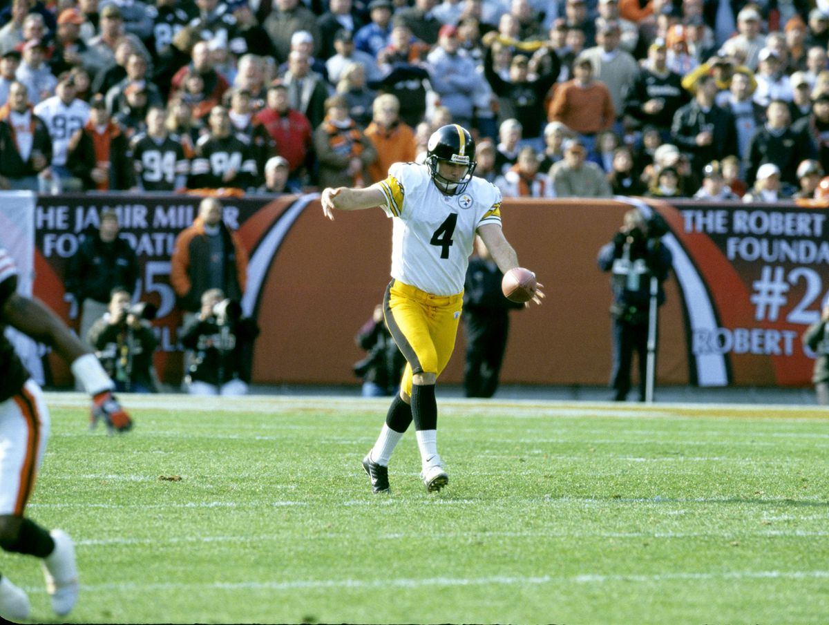 Pittsburgh Steelers vs Cleveland Browns - November 3, 2002