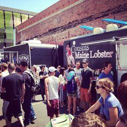 Food trucks galore.