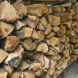 If you don't a stack of wood outside a barbecue restaurant, keep driving