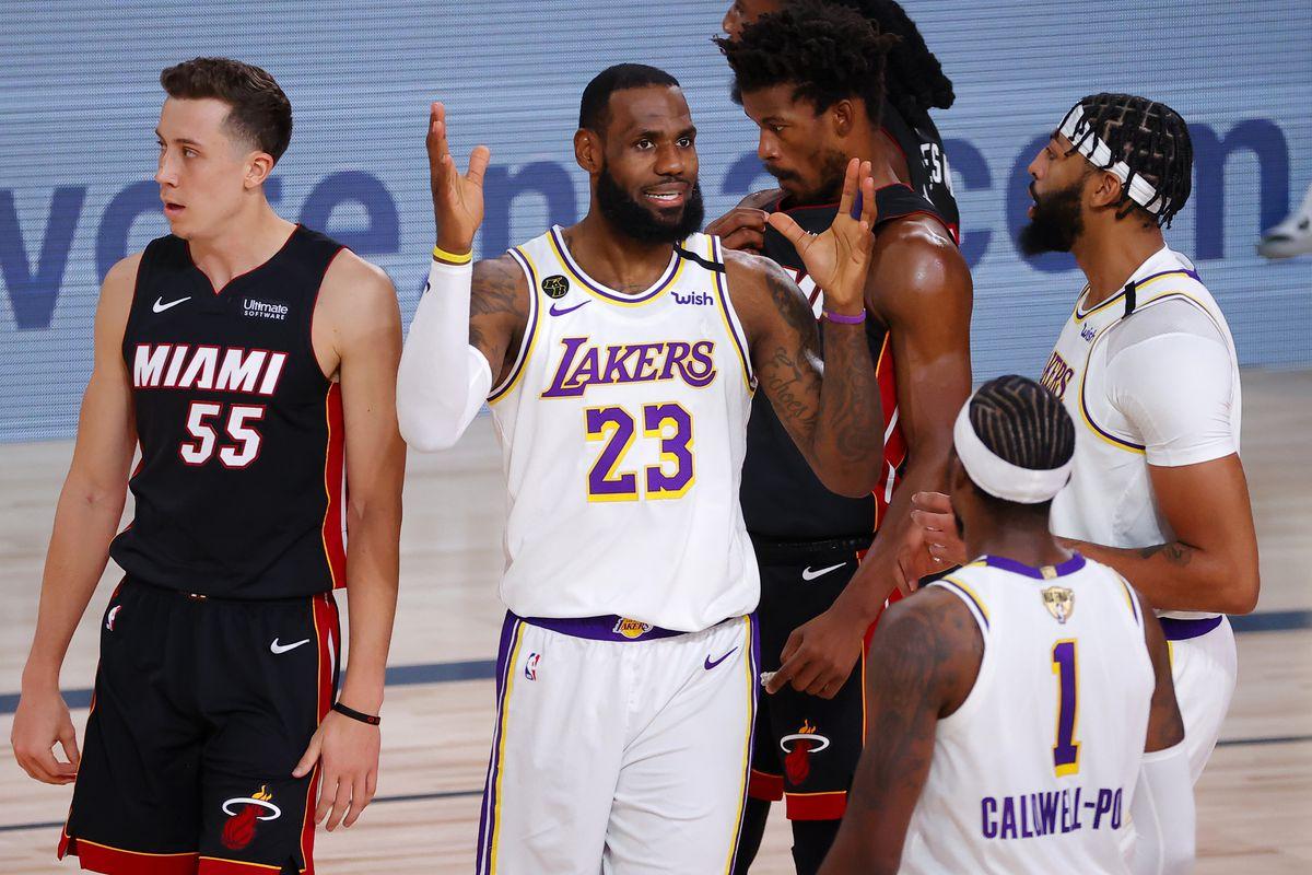 2020 NBA Finals - Game Three