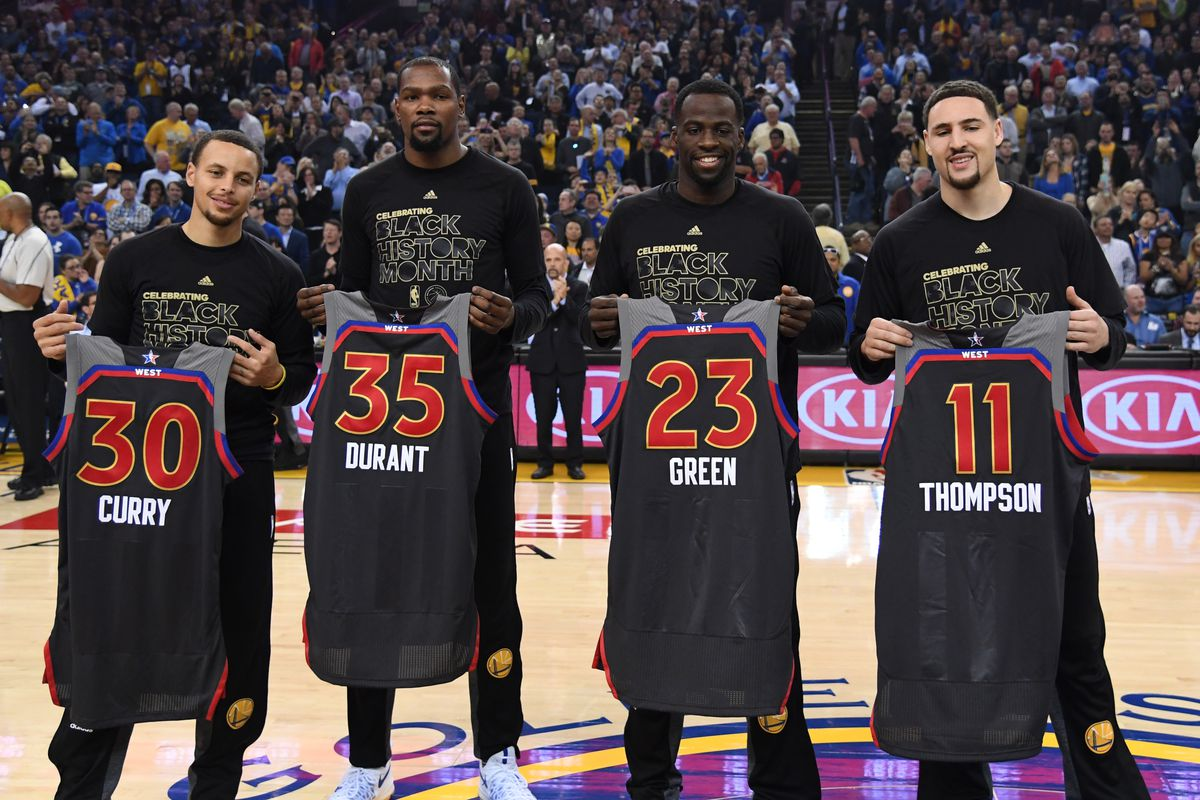 a8e7252038d7e Warriors news: Vote for Steph Curry, Kevin Durant, and Klay Thompson ...