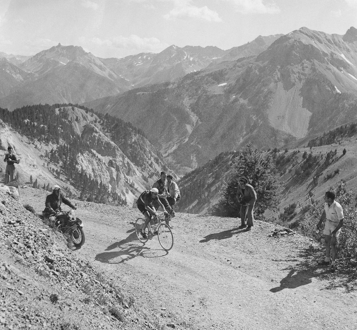 Coppi In The Alps