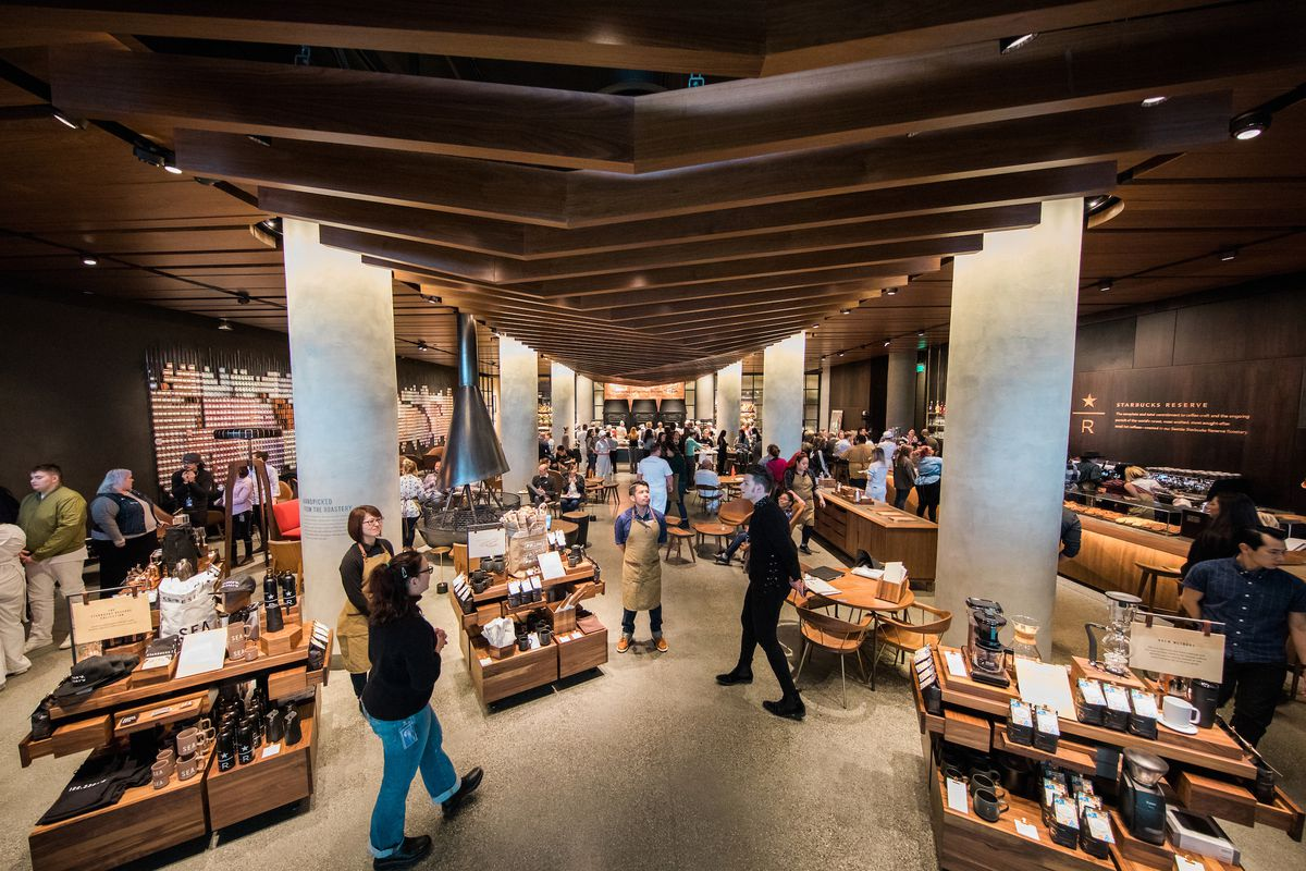 08d2a323f Starbucks Launches Fancy Italian-Influenced Reserve Store in Sodo. It s the  first of 1