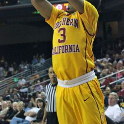 Chass Bryan misses a 3-pointer.