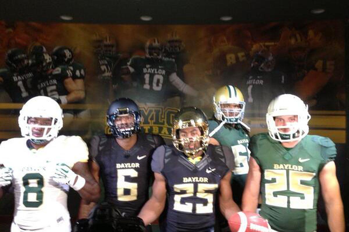 c354971968e Baylor Football: Bears unveil new uniforms - SBNation.com